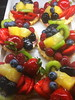 Healthy Fruit (chad_shahin) Tags: strawberry fruit fruittart indulgentpleasures flickrfriday blueberry raspberry pineapple kiwi tart boysenberry