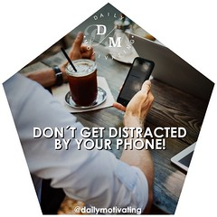 Don't get distracted by your phone! 👌 #dailymotivation #motivation #motivational #motivating #impressive #improve #hardwork #workhard #work #success #successful #business (dailymotivating) Tags: dailymotivation motivation motivational motivating impressive improve hardwork workhard work success successful business