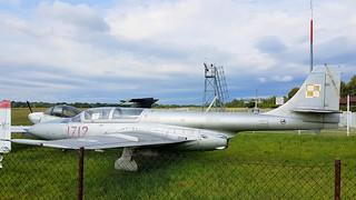PZL Mielec TS-11bis DF Iskra c/n 3H-1712 Polish Air Force serial 1712 Preserved at Katowice aerodrome