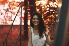serenity (alisuttxx) Tags: portrait girl photography autumn bokeh swirl swirly fall canon 50mm 50 1200d