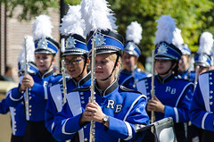 Week 37 Story: Balance (spablab) Tags: chicago illinois lincolnsquare german american germanamerican festival fest parade octoberfest oktoberfest balance story dogwood2017 dogwood52 dogwood52week37 marching band music flute
