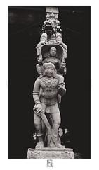 Thalpadai (krishartsphotography) Tags: krishnansrinivasan krishnan srinivasan krish arts photography fineart fine art monochrome thalpadai infantry cavalry women soldier horses sculpture granite temple renganathaswamy shesharaya mandapam srirangam tamilnadu india
