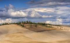 *Le Crete Classic* (albert.wirtz) Tags: clouds wolken sommer summer toskana toscana tuscany italy italia italien albertwirtz lecrete cretesenesi siena provinzsiena sp438 stradaprovincialelauretana landscape landschaft natur natura nature zypressen cipressi acker rural ländlich asciano mucigliani oliven olivenöl vialauretana paesaggitoscani countryside tuscanylandscapes tuscanyclassic toskanaklassiker cloudporn