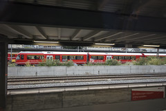 """Steuerwagen Ait 57802 (d/f) Tags: landquart bahnhof rhb rhätischebahn rhaetianrailway steuerwagen ait 57802 alvragliederzug alvra albula agzsteuerwagen """"ait 578"""" stadlerrail stadler"""