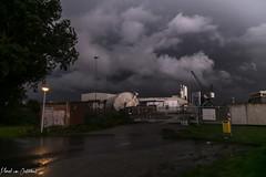 Storm (M van Oosterhout) Tags: storm thunderstorm thunder lightning wind cloud clouds cloudporn sunset alphen aan den rijn dutch holland netherlands nederland groene hart noodweer weather weer rain regen
