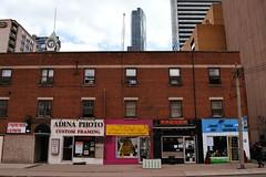 'Lost Building' .... Grosvenor Manor Apartments .... 3 Grosvenor Street .... Toronto, Ontario (Greg's Southern Ontario (catching Up Slowly)) Tags: lostbuildingtoronto torontoist grosvenormanorapartments demolished torndown