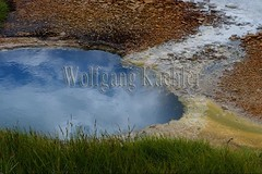 40082446 (wolfgangkaehler) Tags: 2017 europe european iceland icelandic island highlands centraliceland hveravellir hveravellirhotspringsarea volcanic volcanicactivity geothermalarea mineraldeposit mineralcrystals mineraldeposits hotsprings colorful algae