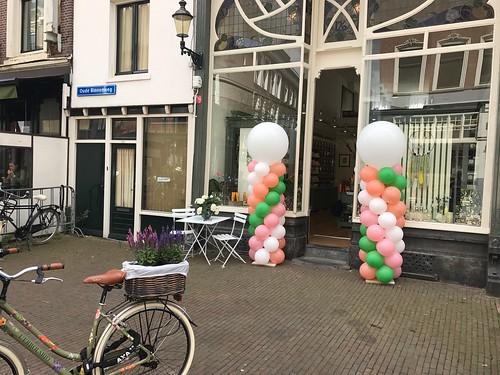 Ballonpilaar Breed Rond Oude Binnenweg Rotterdam
