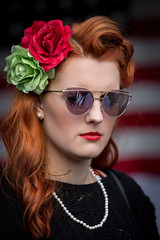 Sheringham 1940's weekend 2017 (Albert's Photo's) Tags: canon 5dmkiii girl pretty knightingale singer 1940s sheringham 2017 norfolk