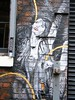 Manchester street art (rossendale2016) Tags: main door left right each sides lifesize realistic clever lovely streets white black centre city bar artistic quarter northern iconic fitzgerald art street manchester