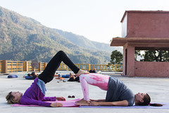 #Yoga #style Best #Better #Life (yoga.career) Tags: aym ashram associationofyogaandmeditation india rishikesh teacher training yoga yogi health fitness philosophy style pose smile meditation pranayama smartness goodlooking happiness girl