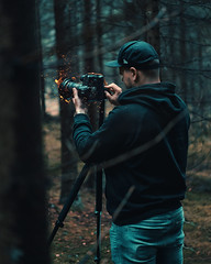 Sparks in the woods (@phanttoni) Tags: spark outdoor forest photoshop finland turku zeiss 55mm sony a7 ilce7