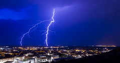 Tormenta (misterkoma) Tags: sky canon 7d 1022mm cielo noche larga exposición tripode alfaro la rioja dark storm tormenta rayo relampago trueno lluvia meteo nocturna naturaleza paisaje nubes 1000v40f