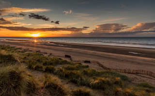 Holme Beach Sunset