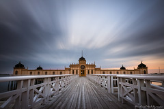 Varberg Kallbadhus (Michael Wahlgren) Tags: ifttt 500px autumn sky sea sunset beach clouds cloudscape europe house architecture bridge building nude warm canon leading lines long exposure sweden bath spa landing stage kallbadhuset bathhouse halland varberg kallbadhus badhus mwahlgren sommarstad
