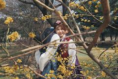 Gyeongbokgung Palace (eekiem) Tags: seoul korea korean hanbok asians couple olympus penf spring architecture gyeongbokgung palace