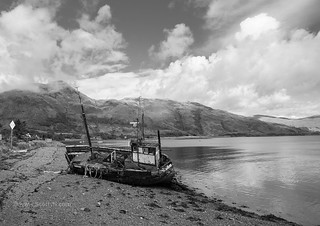 Beached at Ardgour