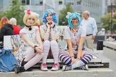 Anirevo Girls (Nattawot Juttiwattananon (NJ)) Tags: cosplay harajukugirl anirevo animerevolution2017 vancouverconventioncentre
