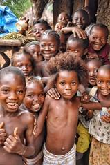 Sierra Leonian kids.