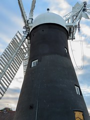Holgate Windmill repainting, June 2017 - 2