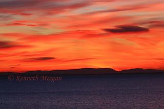 Sunset from Kilmore Quay