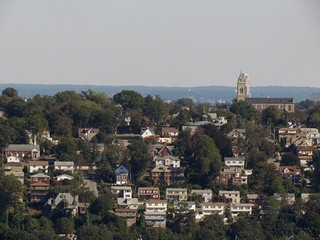 Yonkers from atop the Palisades