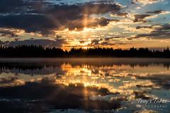 Sunrise at Brainard Lake