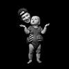 Bryan & Leighton (Oliver Leveritt) Tags: nikond610 afsnikkor2470mmf28ged oliverleverittphotography flash speedlight su800 su800wirelessspeedlightcommander cls nikoncls creativelightingsystem offcameraflash yongnuo yn568ex speedlite portrait brolly umbrella photeksoftlighteriisl500046inch blackbackground onblack father son child baby infant monochrome blackandwhite