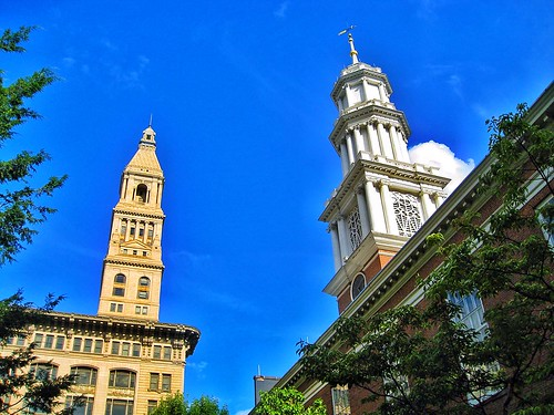Hartford Connecticut ~  Travellers Insurance Building  ~ First Church of Christ