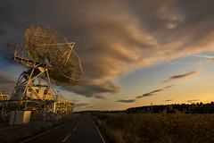 Radio Telescope (cliveg004) Tags: radiotelescope defford worcestershire sunset clouds rain dish sunlit nikon d5200 landscape mpt590 matchpointwinner