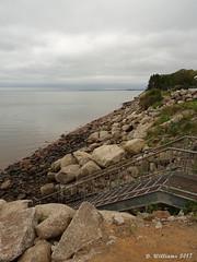 Evangeline Beach (tvordj) Tags: oceanscape novascotia beaches stairs steps rocks