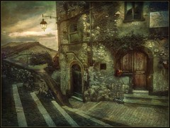 """From the series """"Walks in Italy"""".Artena. (odinvadim) Tags: mytravelgram paintfx textured textures iphone editmaster travel iphoneography sunset evening iphoneonly church painterly artist snapseed landscape photofx specialist iphoneart graphic painterlymobileart"""