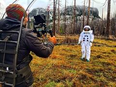 Lights, Camera... (Pennan_Brae) Tags: acting actor filming movie film featurefilm indiefilmmaking coming2018 redcamera indiefilm filmdirector filmmaker astronaut comingsoon filmmaking director