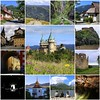 Slovakia is a good idea (B℮n) Tags: fdsflickrtoys collage best collection album bojnickýzámok bojnice castle bojnicecastle bajmócivár slovakia slowakije fairytale medieval pálfi kasteel strážov mountains grass flowers visitors tourist vacation holiday 11thcentury trees rocky terrain walls stone fantasy gothic renaissance front towers summer roods chapel palace viewpoint picnic relaxing photographer composition travel visit 50faves topf50