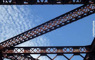 Blue Sky & Rust
