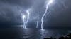 Orage sur la côte Toscane. 10/9/2017 (MarKus Fotos) Tags: livorno livourne toscane tuscany storm sturm temporale orage orages strike foudre italia italie italy thunder thunderstorm thunderstrike lightning fulmine fulmini fulminiitalia