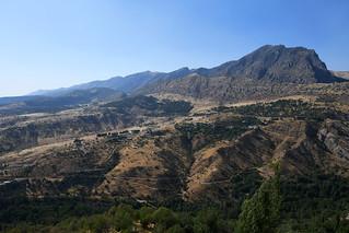 Mountains around Amedi / Iraqi Kurdistan