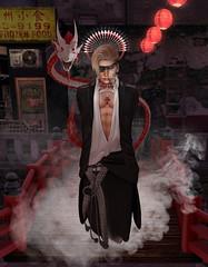 Chasing the Dragon (CodyAdored) Tags: secondlife second life male fashion gabriel