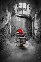 That chair...... (Caledonia84) Tags: usa maryland washington dc philadelphia pennsylvania eastern state penitentiary a6000 sony zhongyi lens turbo ii 2 helios 44m abandoned