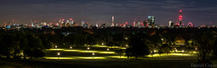 Primrose Hill Panorama (Daniel Coyle) Tags: primrosehillpanorama panorama primrosehill london view cityskyline cityscape citylights viewpoint londonviews cityviews cityoflondonskyline cityoflondon londonskyline skyline regentspark londonzoo londonnight nikon nikond7100 d7100 danielcoyle night nightphotography nightshot nightonearth canarywharf stpaulscathedral stpauls cathedral theshard bttower londoneye walkietalkie 122leadenhallst cheesegrater gherkin 30stmaryax 30stmaryannexe herontower natwesttower tower42 uk