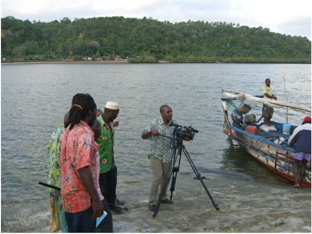 Cameraman in river-1