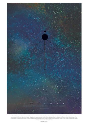 14-Affiche // 50x70 // Voyager