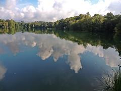 Spiegelung (Wunderlich, Olga) Tags: wald wolken spiegelung natur insel rügen deu mecklenburgvorpommern naturfoto landschaft