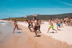 First to the beach! (Leo Hidalgo (@yompyz)) Tags: playa bolonia beach cadiz dunas mse málaga south experiences yompyz erasmus students estudiantes