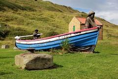 Skinningrove - 2017-09-10 (BillyGoat75) Tags: repusboat replica skinningrove northyorkshire