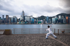 Morning Hong Kong (Patrick Foto ;)) Tags: activity architecture asia athlete avenue back building business china chinese city cityscape concept copyspace day exercise famous female fitness girl harbour healthy hk hong kong kowloon lifestyle modern morning outdoor outside people promenade sea skyline skyscraper sports stretching sunshine tai tourism tower training travel urban victoria woman workout young hongkong