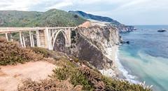 Bixby Creek Bridge (gourab66) Tags: bixbycreekbridge monterey travel landmark tourist pacificocean california nikon nikond810 nikon160350mmf40 landscape waterscape bigsur pacificcoasthighway highway1