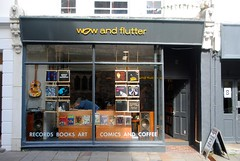 Wow and Flutter (zawtowers) Tags: hastings east sussex seaside town resort historic 1066 centre saturday 30th september 2017 warm sunny sunshine wow flutter record shop vinyl cd coffee comics brilliant stock relaxed atmosphere america ground district