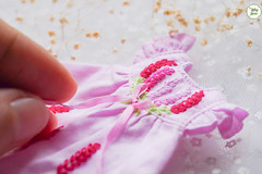 Handmade Embroidered Dresses (Ylang Garden) Tags: dress handmade embroidered latiyellow pukifee