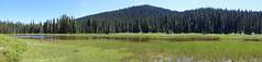 Buesch Lake panorama, Lewis County, Washington (jlcummins - Washington State) Tags: pct pacificnorthwest pacificcresttrail hike backpack trail washingtonstate williamodouglaswilderness lewiscounty